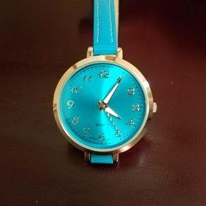 Indigo blue watch